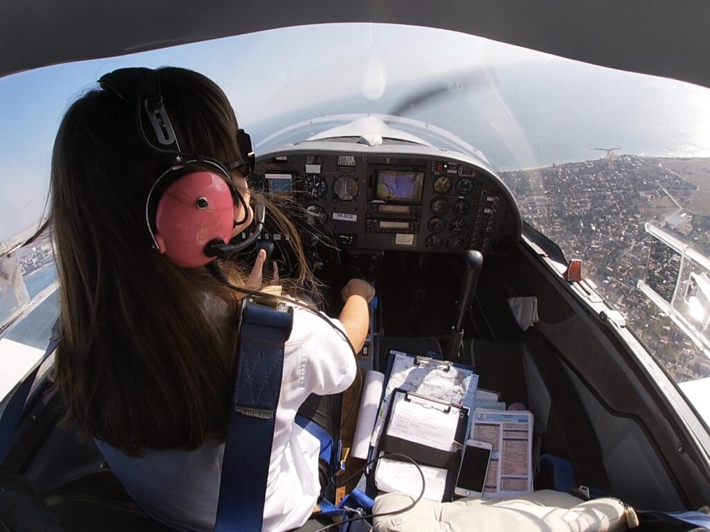 Cadets will fly in solo flight to improve their skills.